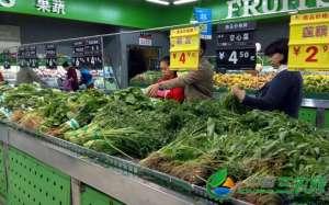 """福州海峡蔬菜批发均价仍处""""3时代"""""""